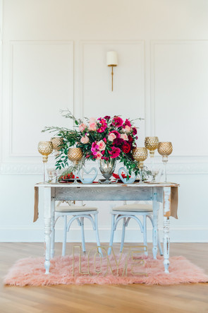 Valentine's Sweetheart Table Centerpiece