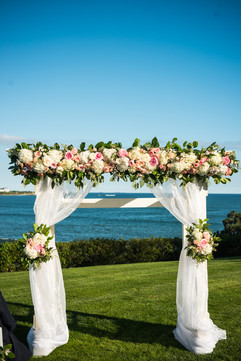 FLORALS & STATIONERY BY: Angelic Affairs  PHOTO BY:   Blue Flash Photography  VENUE:   Chanler Inn  Newport, RI