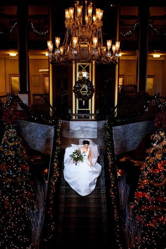 Courtney + Kiriakis   BRIDAL BOUQUET Angelic Affairs  PHOTO Trevor Holden Photography  HOTEL Hotel Viking @ Providence, RI   THEME My Big Fat Greek Holiday Wedding  COLOR SCHEME Green, white, burgundy