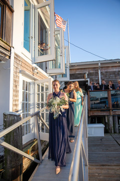FLORALS BY: Angelic Affairs  PHOTO BY:   Classic Photographers  VENUE:   The Landing   Newport, RI