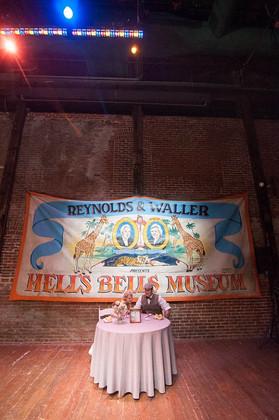 Andi + Brian   PLANNING + DESIGN Angelic Affairs  PHOTO Allebach Photography  VENUE Ice House @ Bethlehem, PA   THEME Vintage Vegan Coney Island  COLOR SCHEME White, blue, blush pink, grey, red