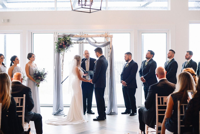 Altar Florals + Draping