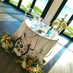 FLORALS, PLANNING, COORDINATION, STATIONERY & PHOTO BY: Angelic Affairs  VENUE:   Belle Mer   - Newport, RI  PUBLICATION:   RI Wedding Magazine  Newport, RI