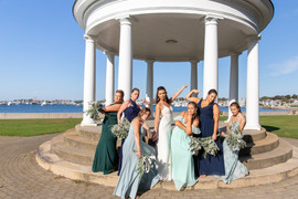 FLORALS BY: Angelic Affairs  PHOTO BY:   Classic Photographers  COORDINATION: Kelly Elizabeth Events  VENUE:   The Landing   Newport, RI