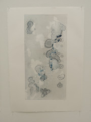 Blue Monoprint 2