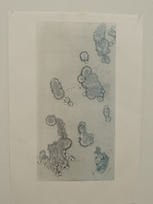 Blue Monoprint 1