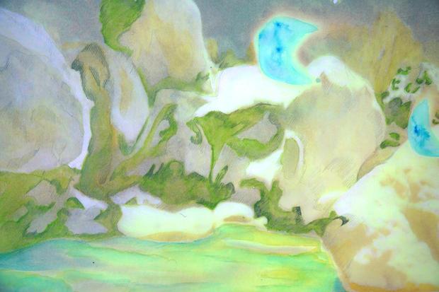 River Nymphs (detail)
