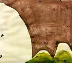 Green Edge (polaroid study)