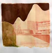 Rome Square (polaroid study)