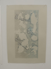 Blue Monoprint 3