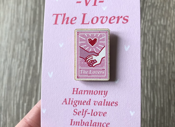 The Lovers Tarot Pin