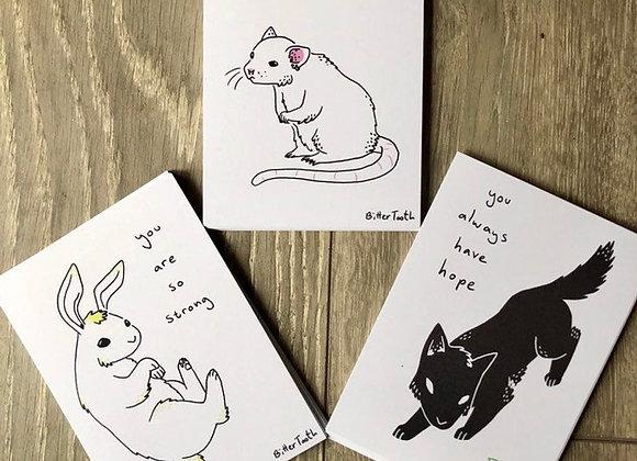 Gentle Positive Art Prints