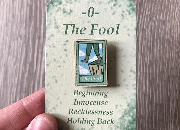 The Fool Tarot Card Pin