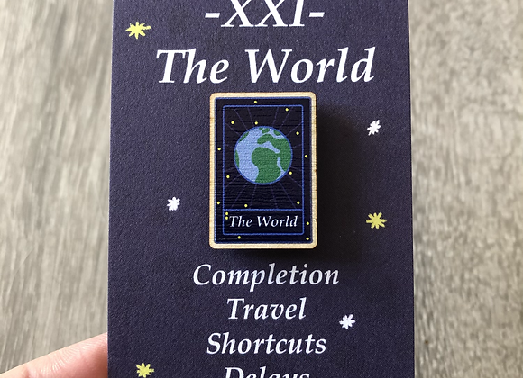 The World Tarot Pin