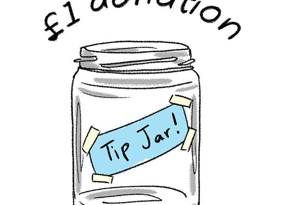 Tip Jar (British Pound)
