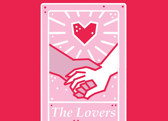 The Lovers Tarot Pin *PRE-ORDER*