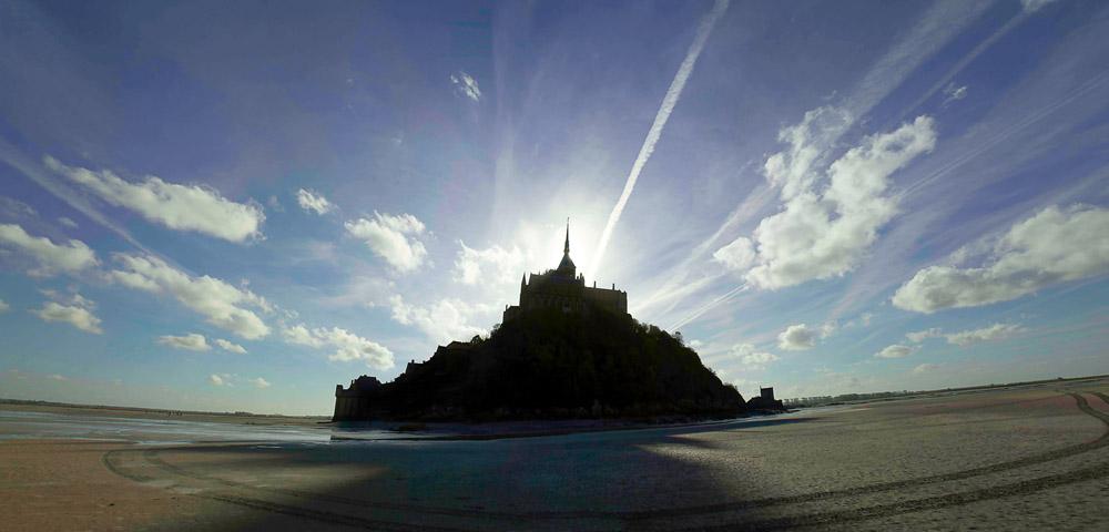 Low Tide, Mont St. Michel, France