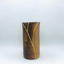 Amy Schnitzer_faux kintsugi vase 3