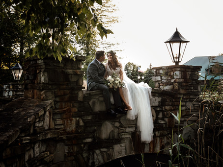 Elyse + Albert's Fall Wedding at The Venue at StoneWater