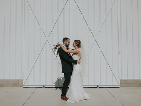 Mackenzie + Jaret's Idyllic Spring Wedding at the White Rose Barn Event Venue