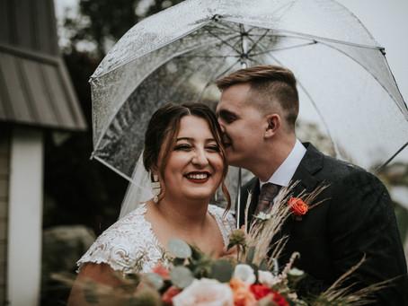Cori + Hunter's August wedding at Irons Mill Farmstead Weddings