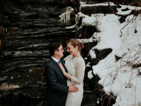 Laura + Andrew: Kent State Hotel and Overlook Wedding Ohio