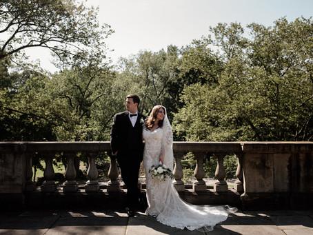 Nicole + Adam's Elegant Industrial Wedding at The Lake Erie Building