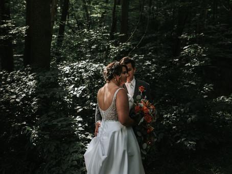 Kayla + John's Summertime Wedding