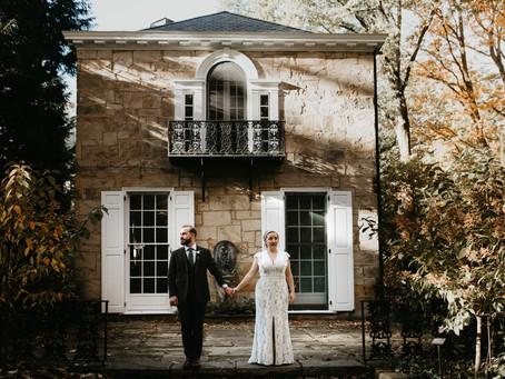 Emily + Colin's Autumn Wedding at The Holden Arboretum