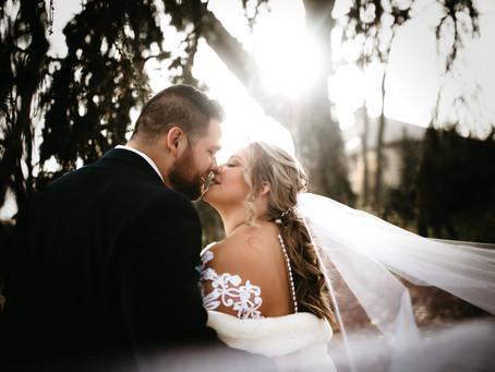 Kate + Brandon November Wedding at Glenmoor Country Club