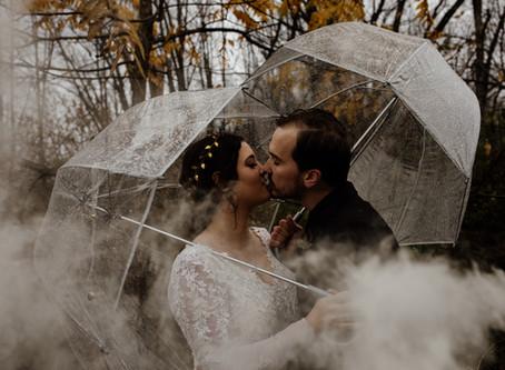 Katie + Tim's Harvest Season Wedding at Sun Valley