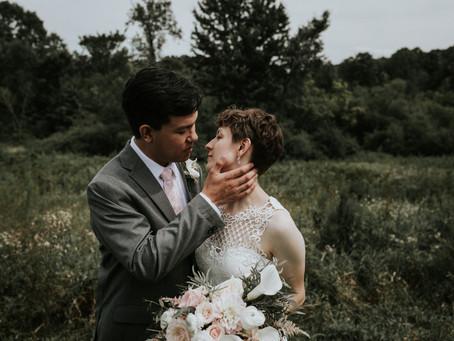 Maria + Ryne's August Wedding