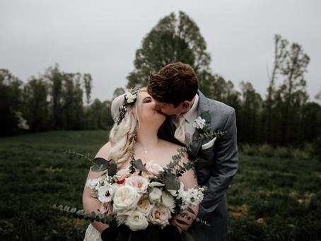 Erin + Jonathan's Enchanted Woodland Wedding