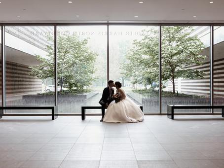 Rienna + Julian's Romantic Spring Cleveland Wedding
