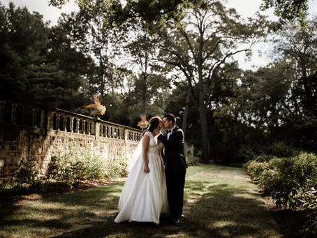 Taylor + Andrew's Romantic September Wedding