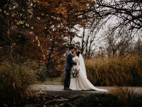 Heidi + Derek's November Wedding at Brookside Farm
