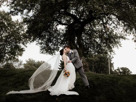 Rachel + Andrew's Classic Springtime Canton Wedding