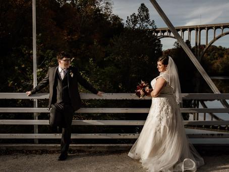 Emily + Josh's Autumn Wedding at Windows on the River
