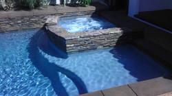 Cladded Spa & Pool