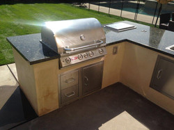 Built-in Outdoor Grill