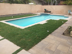 New Pool & Spa with Pavers