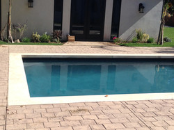 Pool with Surround Paving