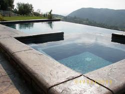 Infinity & Rock Masonry Pool