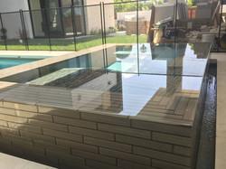 Modern Raised  & Tiles Spa