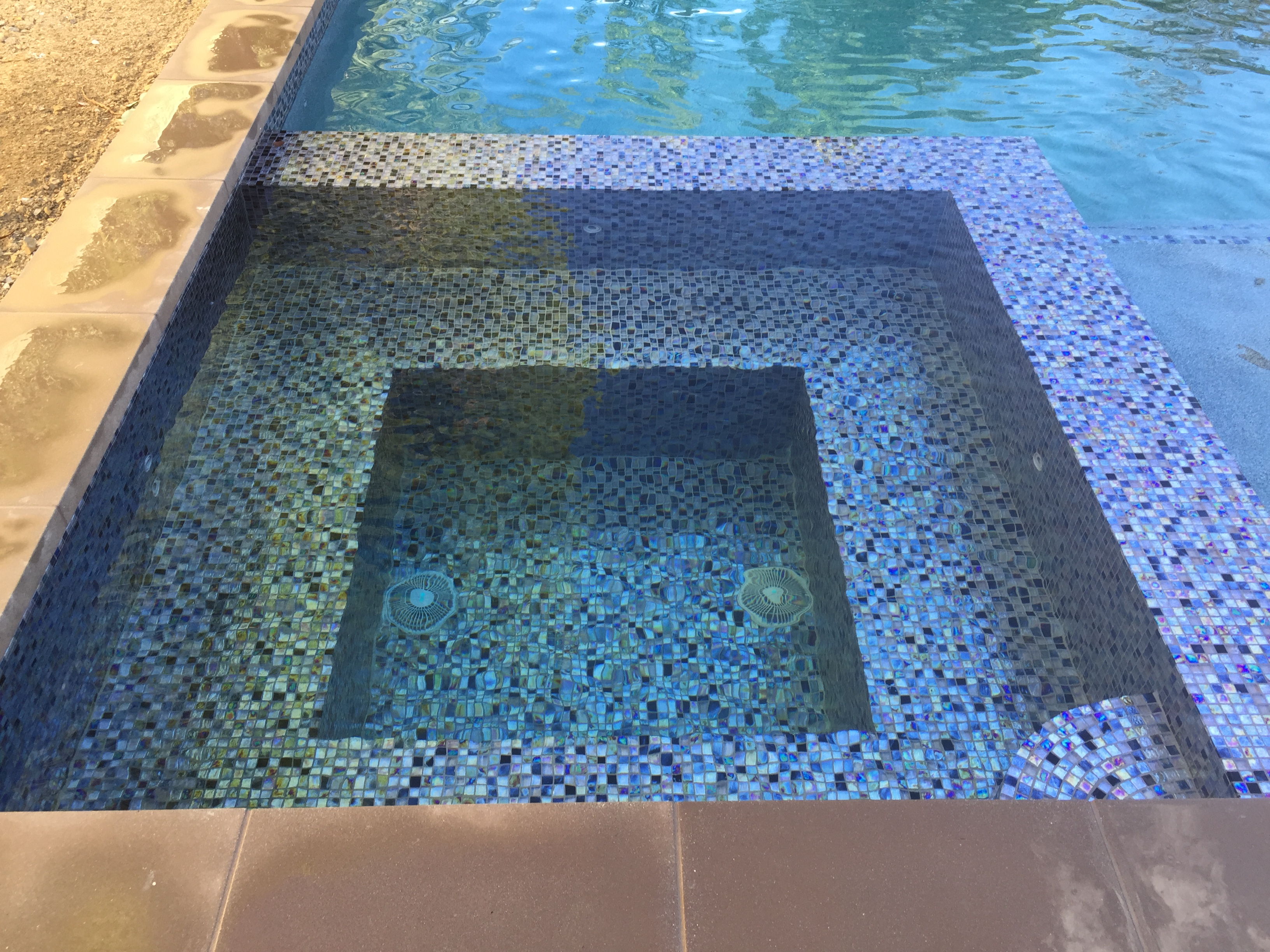 Fully Tiled Spa