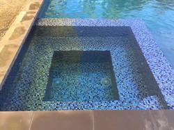 Fully Tiled Spa