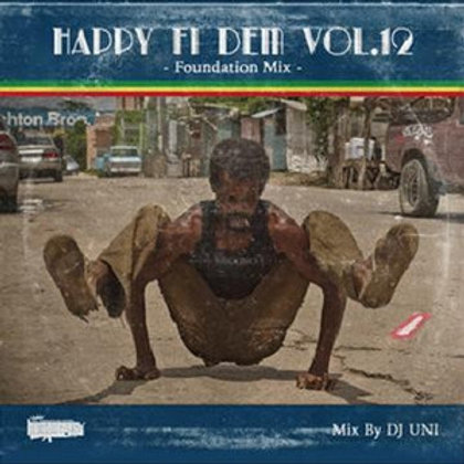 DJ UNI fr.HUMAN CREST 【HAPPY FI DEM VOL.12 -Foundation Mix-】