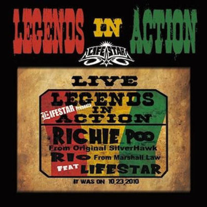 LIFE STAR 【 LEGENDS IN ACTION 】-LIVE音源-