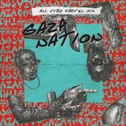Medz【 Gaza Nation -All VYBZ KARTEL Mix- ( 2枚組 ) -Gangsta side / Gyal side- 】Mixe