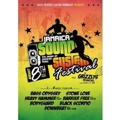 《 DVD 》BASS ODYSSEY, BARRIER FREE,STONELOVE etc..【 Jamaica SoundSystem Festival